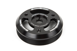 Grimmspeed Lightweight Crank Pulley Black - Subaru All FA/FB Engines