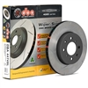 Mitsubishi Evolution 8/9 DBA 4000 Slotted Rear Rotors dba4000evorear