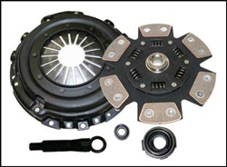 Competition Clutch Stage 4 6-puck Sprung Clutch Kit (Mitsubishi Evo 8/9) 5152-1620