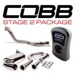 Cobb Stage 2 Power Package (08-10 WRX Hatchback) with Cat