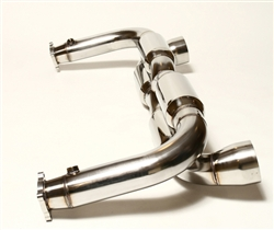 911Tuning Exhaust System Porsche 996TT 01-05 - w/ Catalytic Coverters 911TUN-996TT-100-w-cats