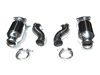 Fabspeed 996TT/X50/GT2 Sport Imported Racing Catalytic Converters with Muffler Bypass Pipes EXTFAB996TTRCMBP