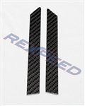 Rexpeed FRS/BRZ Carbon A Pillar Trim