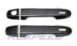 Rexpeed FRS/BRZ Dry Carbon Door Handle Cover