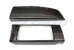 Rexpeed FRS/BRZ Dry Carbon Radio/Dash Trim Cover