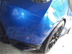 Rexpeed FRS/BRZ STI Style Carbon Rear Bumper Extensions