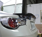 Rexpeed FRS/BRZ TRD Style Carbon Trunk Spoiler