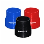 "Mishimoto 2.25"" to 2.5"" Silicone Transition Coupler, available in black, blue and red MMCP-22525"