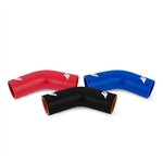 "Mishimoto 2.5"" 45 Degree Silicone Coupler, available in black, blue and red MMCP-2545"
