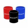 "Mishimoto 2.5"" Straight Coupler, available in black, blue and red MMCP-25S"