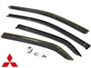 OEM Side Window Deflectors (Mitsubishi Evo 8 / 9) MZ562845EX