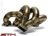 STM Evo 7/8/9 Forward Facing T3 Turbo Exhaust Manifold