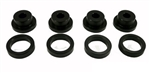 Torque Solution Drive Shaft Carrier Bearing Support Bushings: Mitsubishi 3000GT / Dodge Stealth