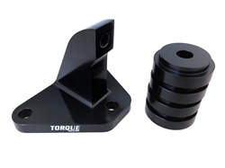 Torque Solution Mustache Bar Eliminator w/ Solid Bushings: Mitsubishi Evo 7/8/9 2001-2006