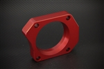 Torque Solution TS-TBS-031R Red Throttle Body Spacer Ford Mustang GT 4.6L 2005-2010