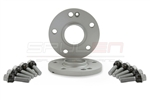 SPULEN Porsche Wheel Spacers w/Bolts- 15mm (1 pair)