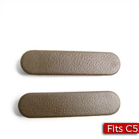 Pair of Door Pull Handle Plugs Interior Color Neutral/Shale (15I) GM Part no. 10314828 - SMC Performance and Auto Parts