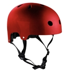 sfr,scooter,metallic,red,safety,helmet,skate