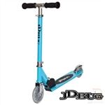 jd,bug,jr,street,scooter,recreational,sky,blue