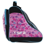 sfr,skate,bag,pink,graffiti,retro