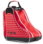 sfr,skate,bag,red,polka,retro