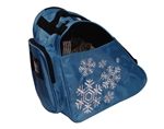 snowflake,ice,skate,bag,roller,disco,blue