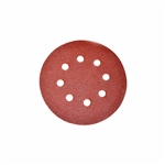 ALEKO® 14SD01H 5 Pieces Sandpaper Discs With 8 Holes 5 Inches