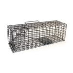"ALEKO 2CH603 Animal Trap 16"" X 5"" X 5"" (40.6 X 12.7 X 12.7 cm) for Squirrels, Chipmunks, Rabbits, Rats and Any Other Small Animal, Lot of 2"