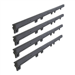 Nylon Gear Rack Fiber-Glass Reinforced With Metal Insert 2.23 Ft each, 4pcs