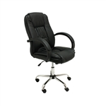ALEKO® ALC2123BL Black Ergonomic Office Chair