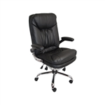 ALEKO ALC3286BK High Back  Black Office Chair