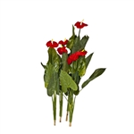 ARPL37 Artificial Red Calla Plant