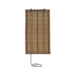 ALEKO® BBL15X29 Flatstick Bamboo Roll Up Blinds