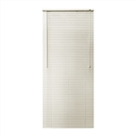 ALEKO® BL26X64AL Smooth PVC Vinyl Horizontal Window Treatment Blinds 1 inch Slats 26 X 64 Inches (66 X 162.6 cm), Alabaster