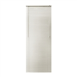 ALEKO® BL26X72AL Smooth PVC Vinyl Horizontal Window Treatment Blinds 1 inch Slats 26 X 72 Inches (66 X 183 cm), Alabaster