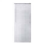 ALEKO® BL27X64WH Smooth PVC Vinyl Horizontal Window Treatment Blinds 1 inch Slats 27 X 64 Inches (68.6 X 162.6 cm), White