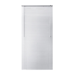 ALEKO® BL40X64WH Smooth PVC Vinyl Horizontal Window Treatment Blinds 1 inch (2.5 cm) Slats 40 X 64 Inches (102 X 163 cm), White