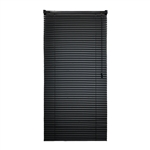 ALEKO® BL42X64BL Smooth PVC Vinyl Horizontal Window Treatment Blinds 1 inch (2.5 cm) Slats 42 X 64 Inches (106.7 X 163 cm), Black