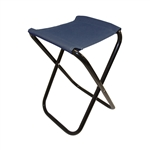 ALEKO CS02BL Foldable Camping Chair or Stool for Fishing, Blue