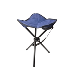 ALEKO CSW3L Outdoor Portable Foldable Camping Tripod Chair or Stool for Fishing, Blue