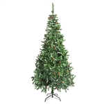 ALEKO® CTPC106H17 Luscious Artificial Indoor 9 Feet (2.74 m) Christmas Holiday Pine Tree With Pine Cones