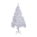 Snow Washed Artificial Holiday Christmas Tree - 5 Foot - White