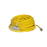 ALEKO  EC10G3P100 ETL 100-Feet(30.5m) Extension Cord, Yellow