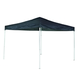 Iron Foldable Gazebo Canopy - Oxford Fabric - 10X13 Feet - Blue - ALEKO