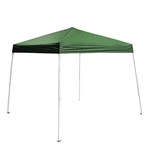 ALEKO® GAZ8-10X8-10G 8x8 Feet (2.44x2.44 m) Iron Foldable Gazebo Canopy for Outdoor Events Picnic Party, Green Color