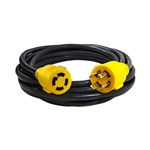 ALEKO  GEC425 Generator Extension Cord ETL Listed 30A 125/250V 10/4 4PIN, 25 Feet (7.6 m)