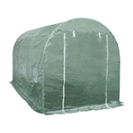 ALEKO GHOT12X7X7 Large Waterproof Poly-Tunnel Walk In Garden Greenhouse Shed