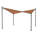 ALEKO® GZ12X12BE Heavy Duty Outdoor Butterfly Gazebo Sun Shade Canopy, 12X12 Feet, Beige Color