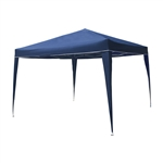 ALEKO® GZDW10X10BL 10 X 10 Foot (3 X 3 m) Foldable Gazebo Tent Canopy for Outdoor Events Picnic Party, Blue Color