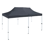 ALEKO® GZF10X20GR 10X20 Foot (3 X 6 m) Gazebo Tent 420D Oxford, Black